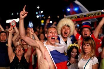 Сборная России в 1/8 финала Чемпионата мира по футболу 2018